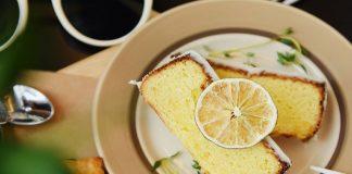 Lemon Sponge Cake (Egg Less)