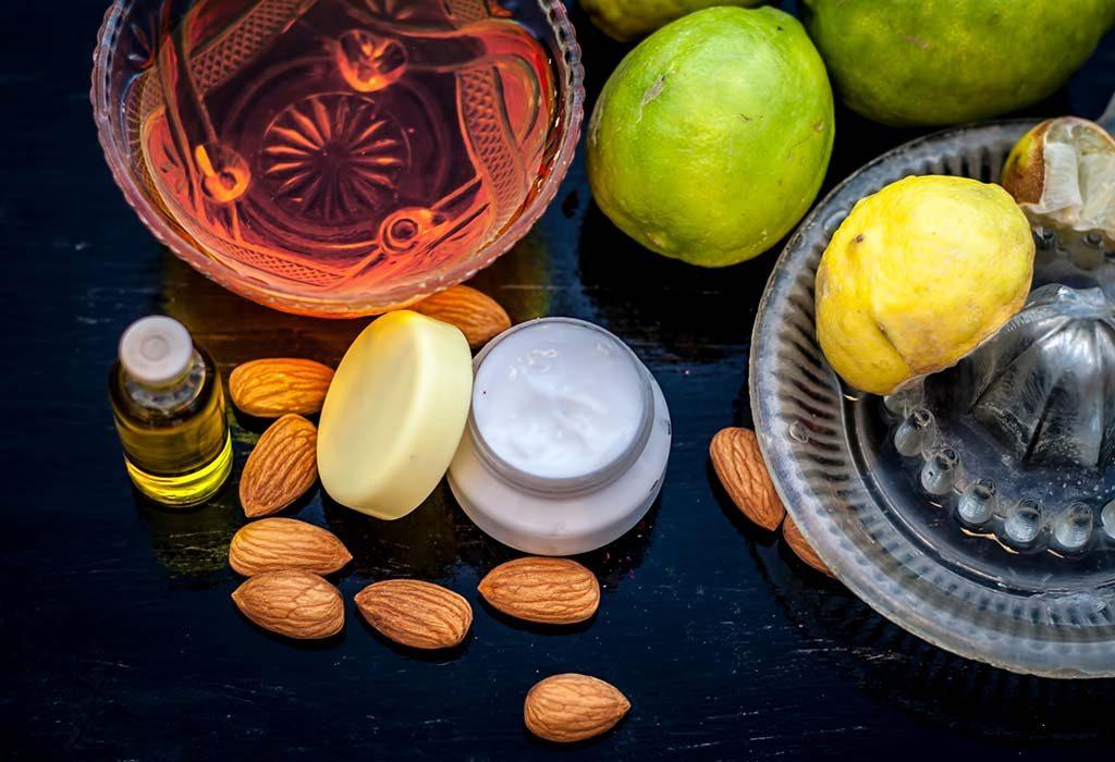 Lemon and Almond Oil