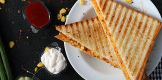 Rajma Corn Sandwich