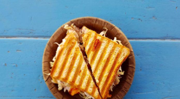 Macaroni Cheese Sandwich