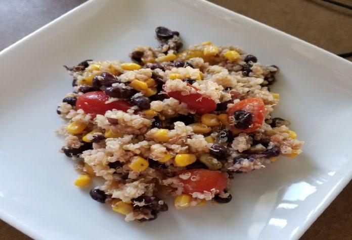 Barley and Corn Salad