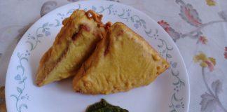 Bread Pakora with Potato Filling