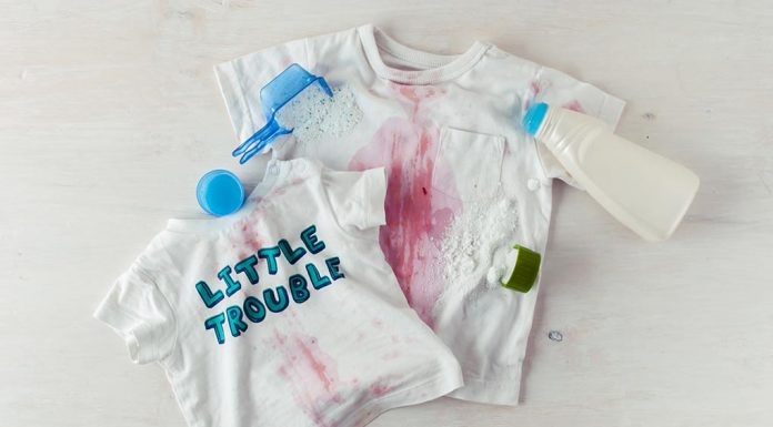 No More Tough Stains on Your Baby's Clothes - Here's How!
