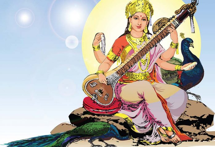 hindu goddess saraswati names for baby girl