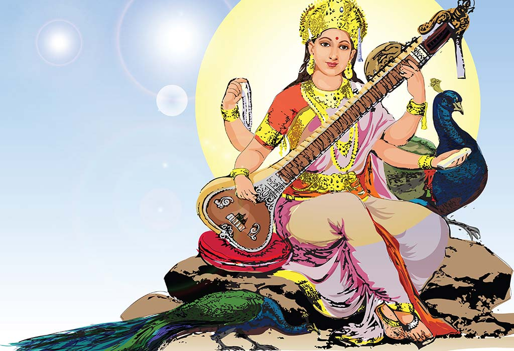 75 Best And Spiritual Goddess Saraswati Names For Baby Girl