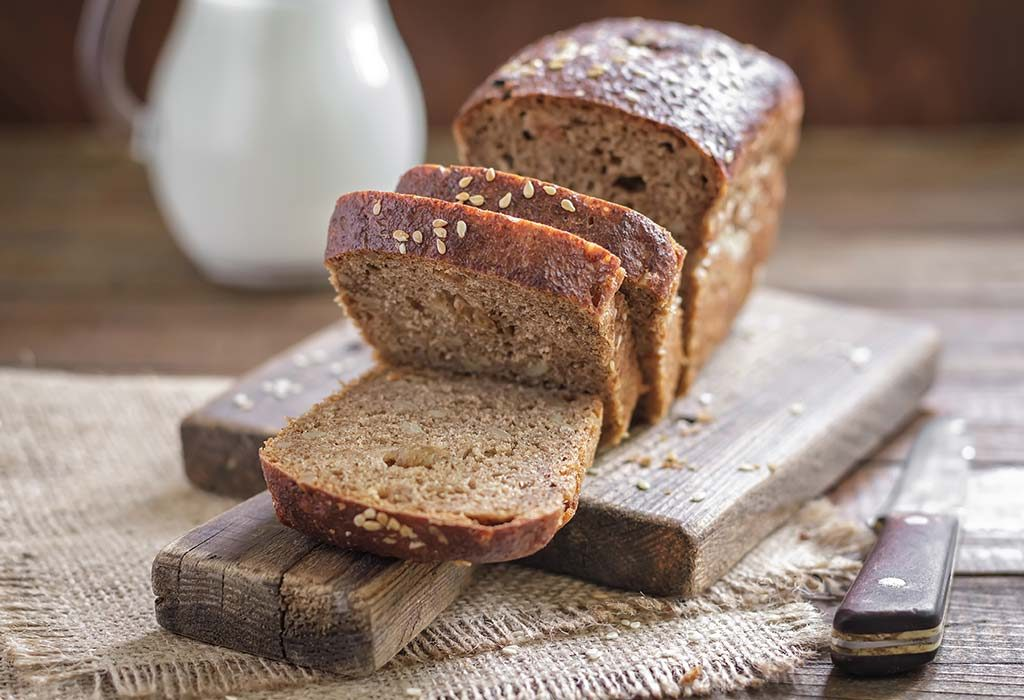 white bread costs less, but brown bread is healthier