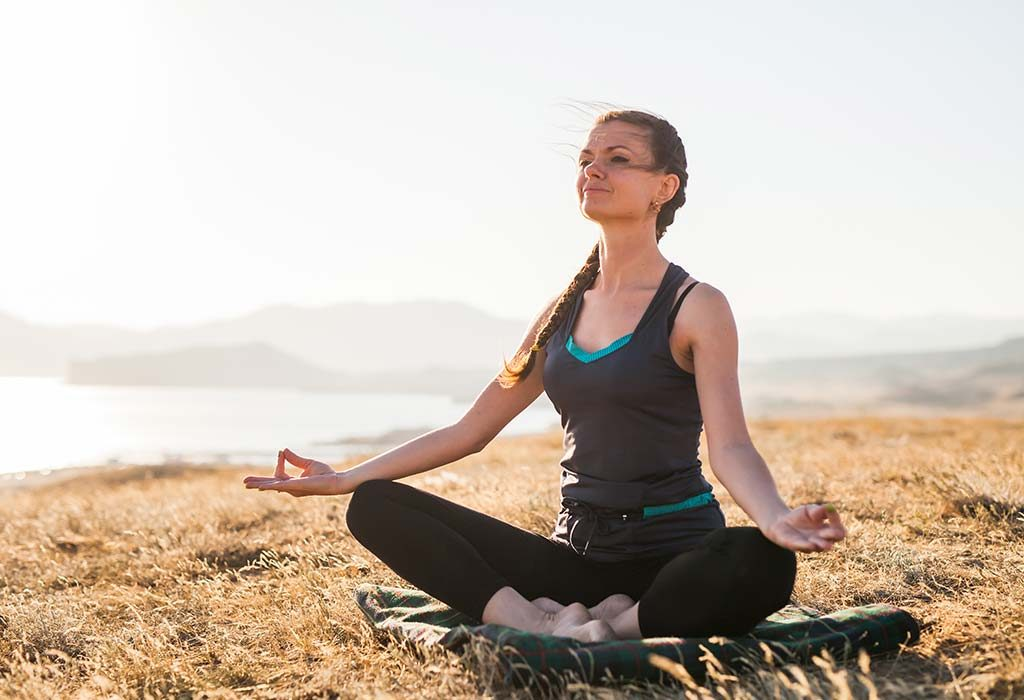 stress reduction by doing yoga