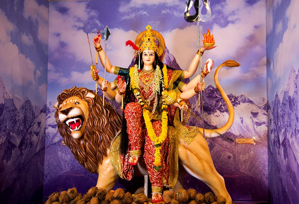 Top 65 Hindu Goddess Durga (Parvati) Names for Baby Girl
