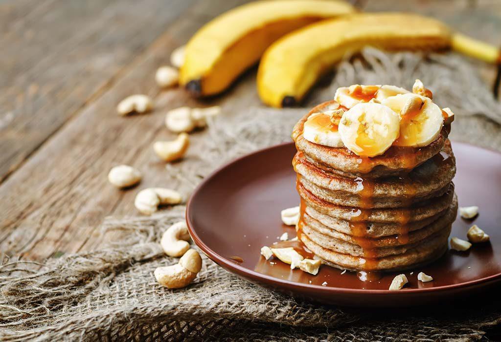 Banana Cinnamon Pancake