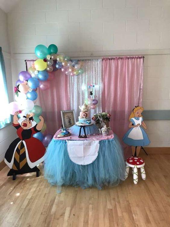 Alice Birthday Theme
