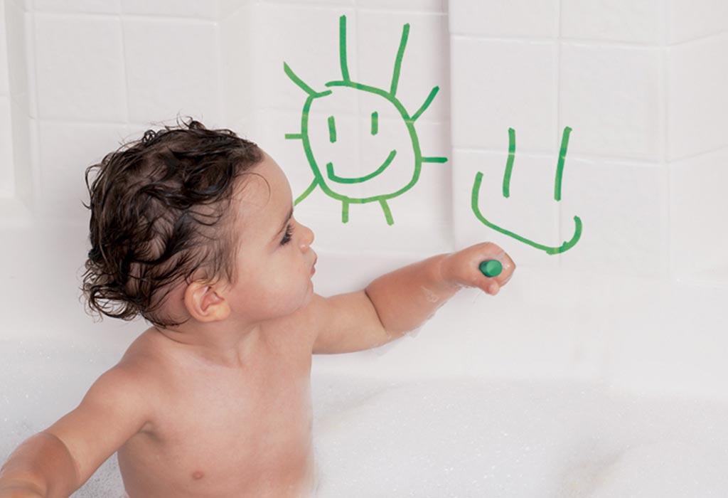 Non-Toxic Bath Crayons