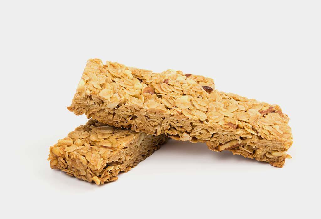 Oats and Almond Energy Bars