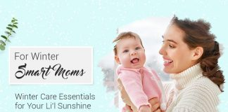 Winter Care Essentials for your Lil Sunshine