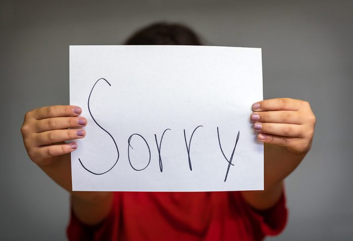 how to teach kids to apologize and actually mean it