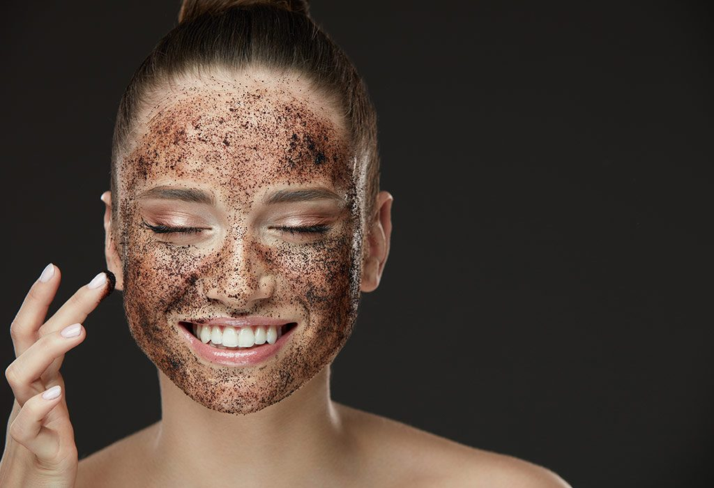 exfoliate your skin and prep it before applying makeup