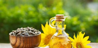 cooking with sunflower oil