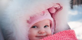 how to keep your baby warm in the winter