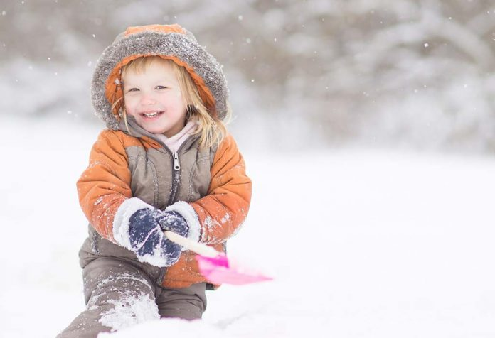 winter care and fun with toddlers