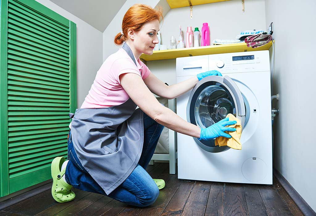 How To Clean A Washing Machine Top Load Front