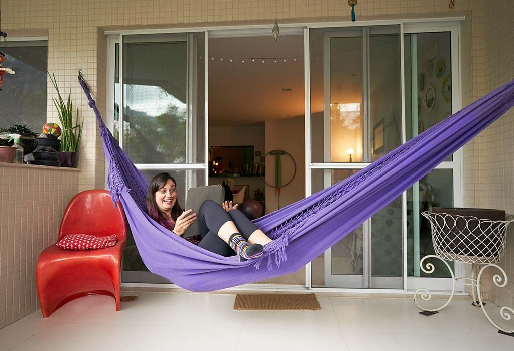Put up a Hammock