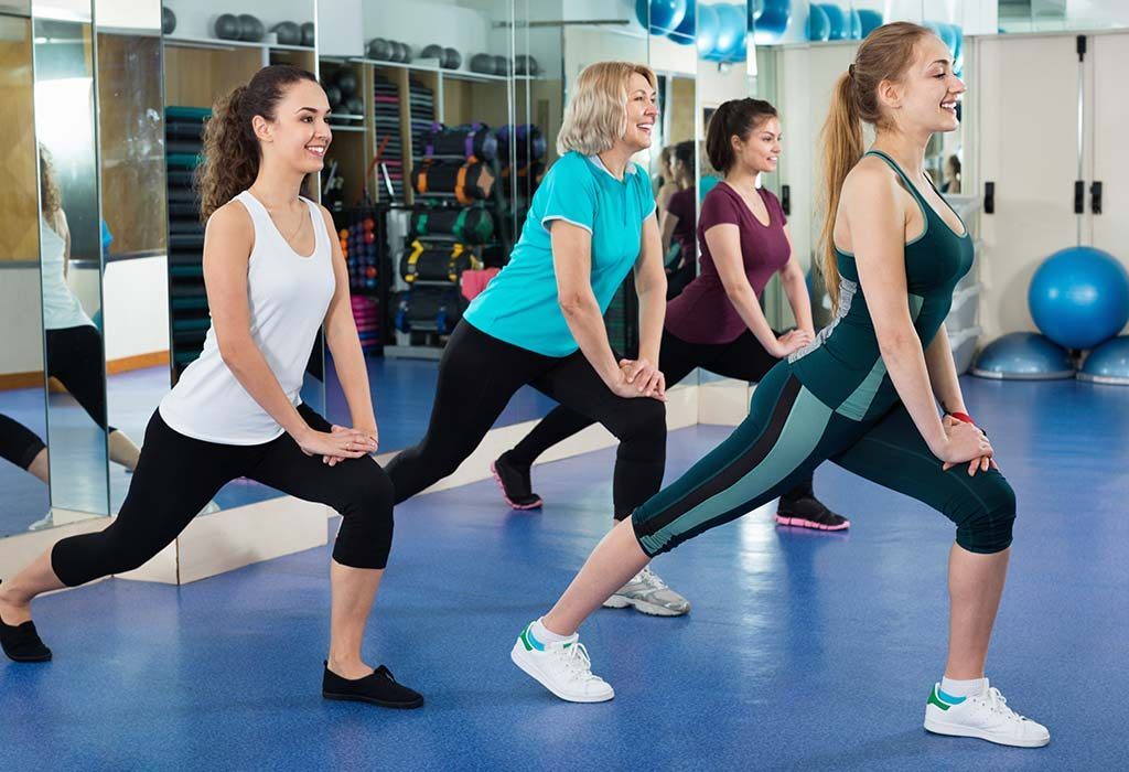 Weight loss with aerobics
