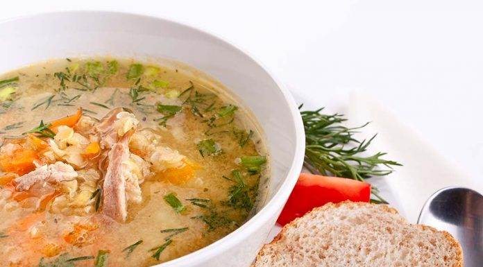 chicken and lentil soup recipe