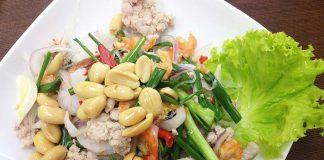 peanut salad recipe