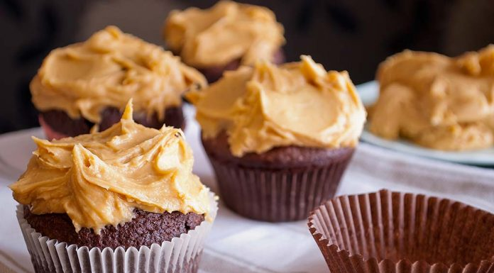 muffins with peanut butter recipe