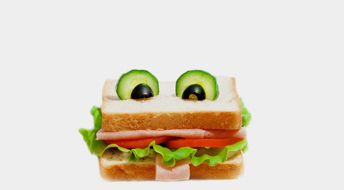 smiling frog sandwiches recipe