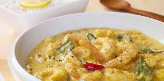 prawns in coconut curry recipe