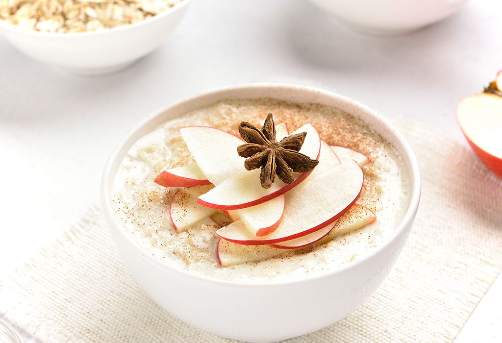 Oats and Apple Cereal