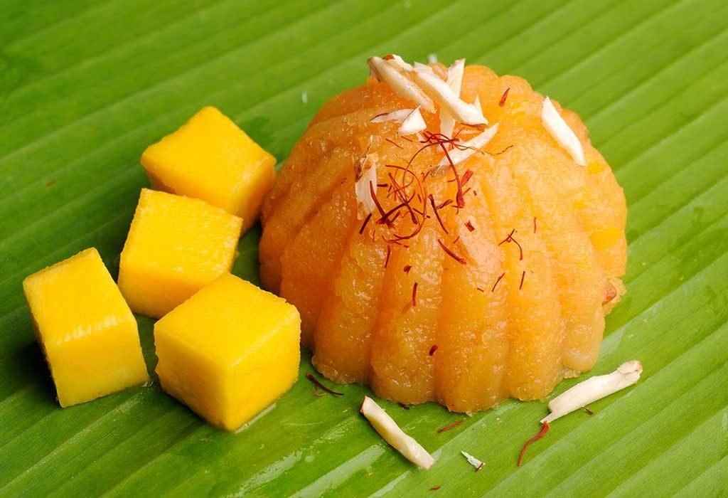 Mango Rawa Halwa