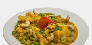 kaju gobi mutter curry recipe