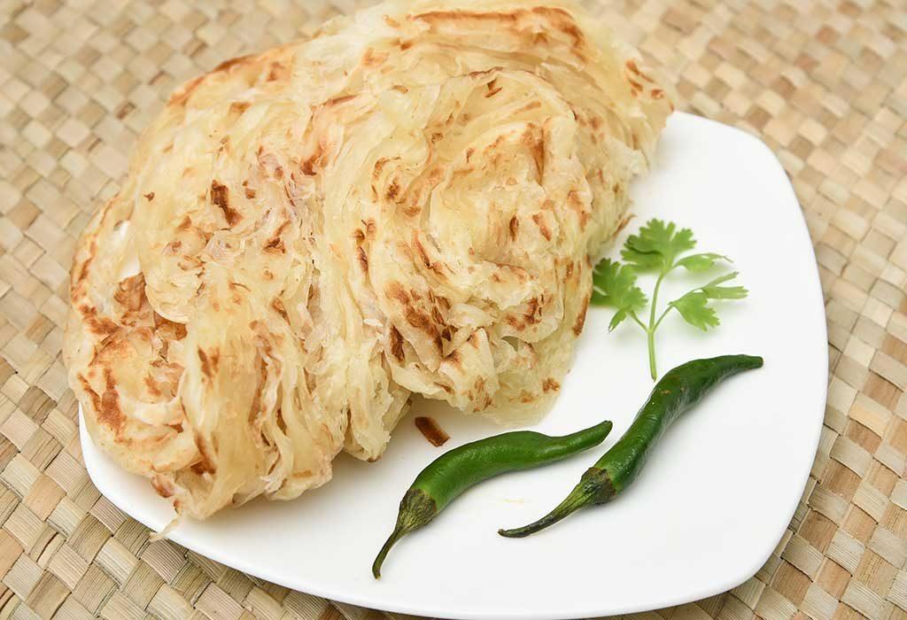 rice flour parantha