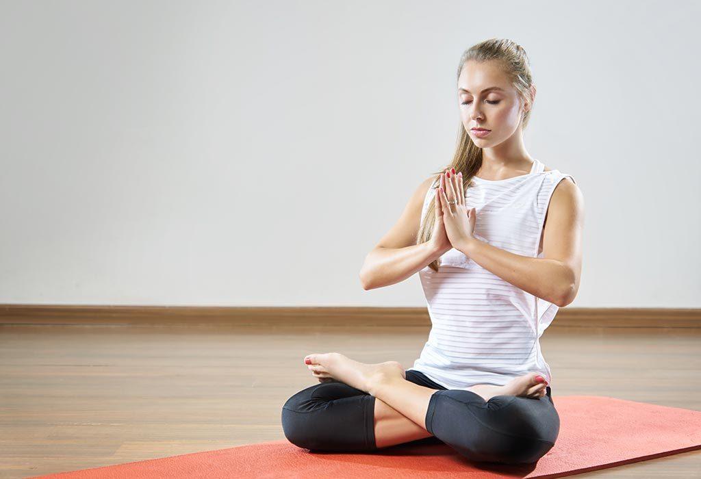 proper meditation posture