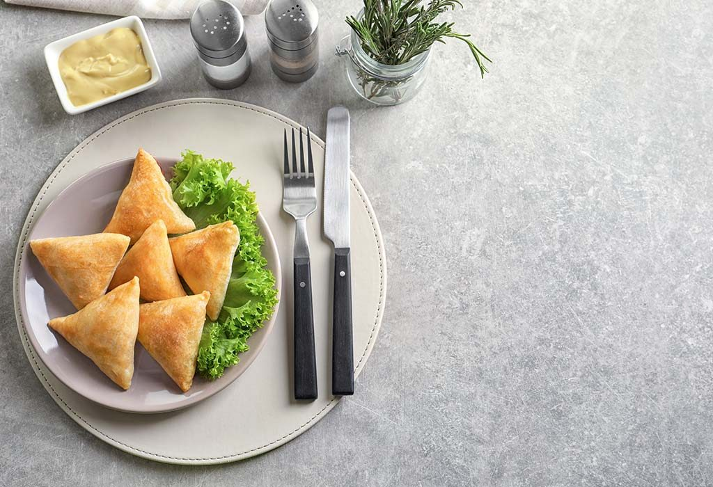 Low-carb Samosas