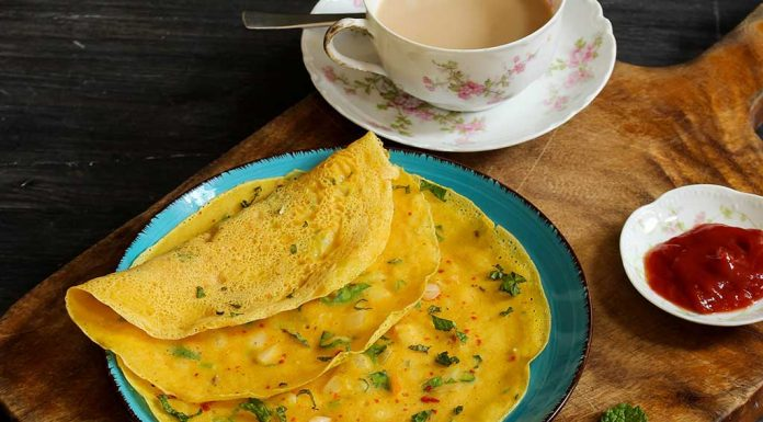 lauki oats besan chila recipe