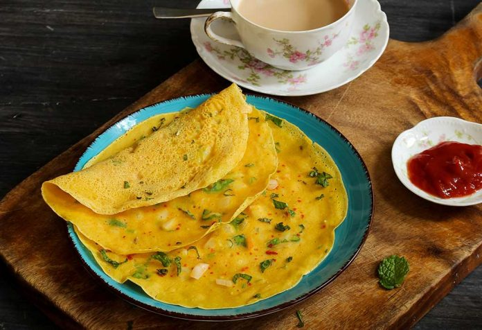 lauki oats besan chila recipe