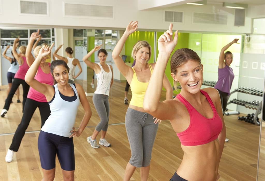 Zumba provides a full-body workout