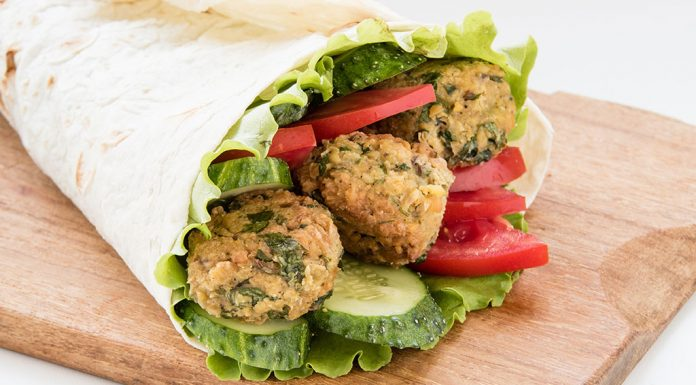 SnackAttack Spicy Falafel Wraps Recipe