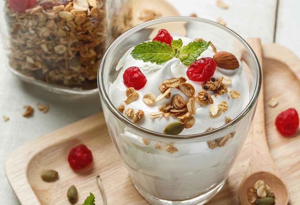 Greek Yoghurt with Fresh Fruits
