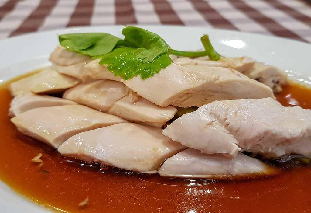 Boiled Chicken