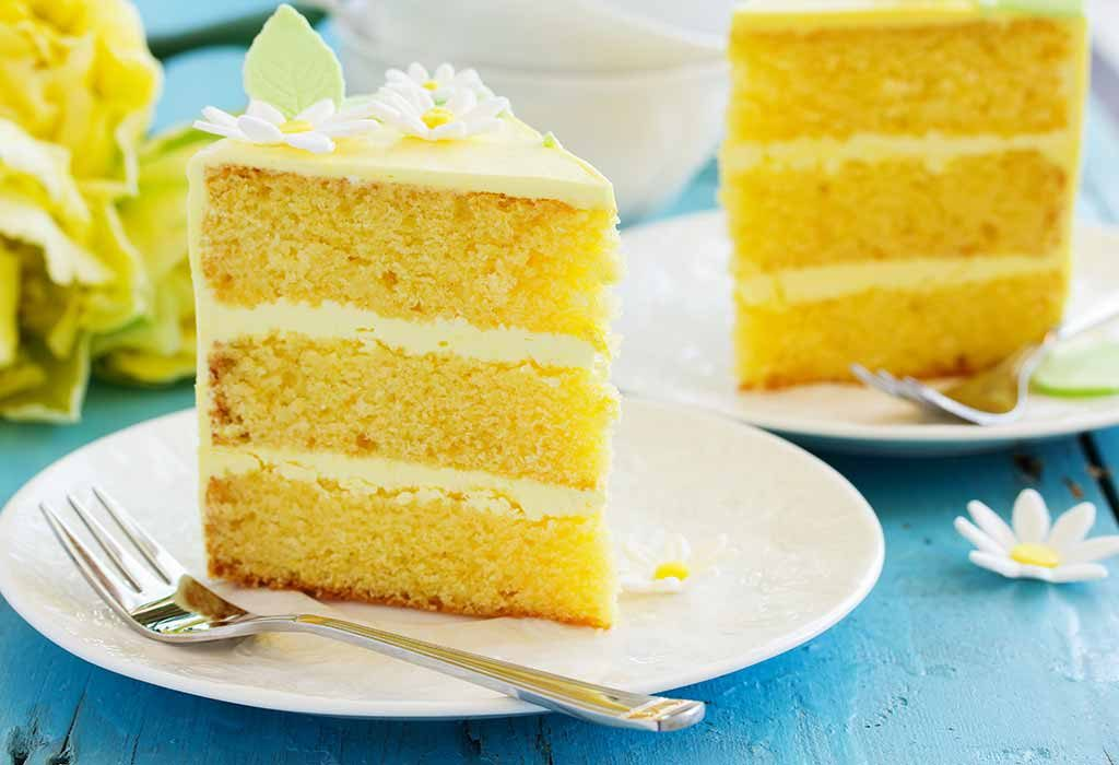 A triple lemon cake