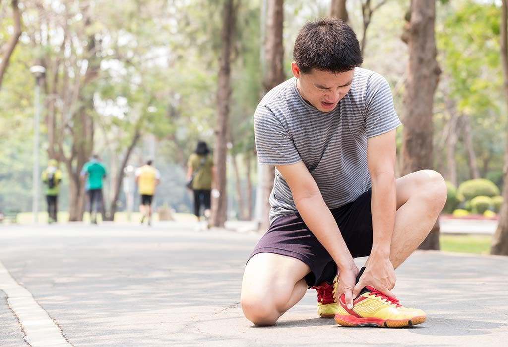 Walking off an ankle injury can be harmful