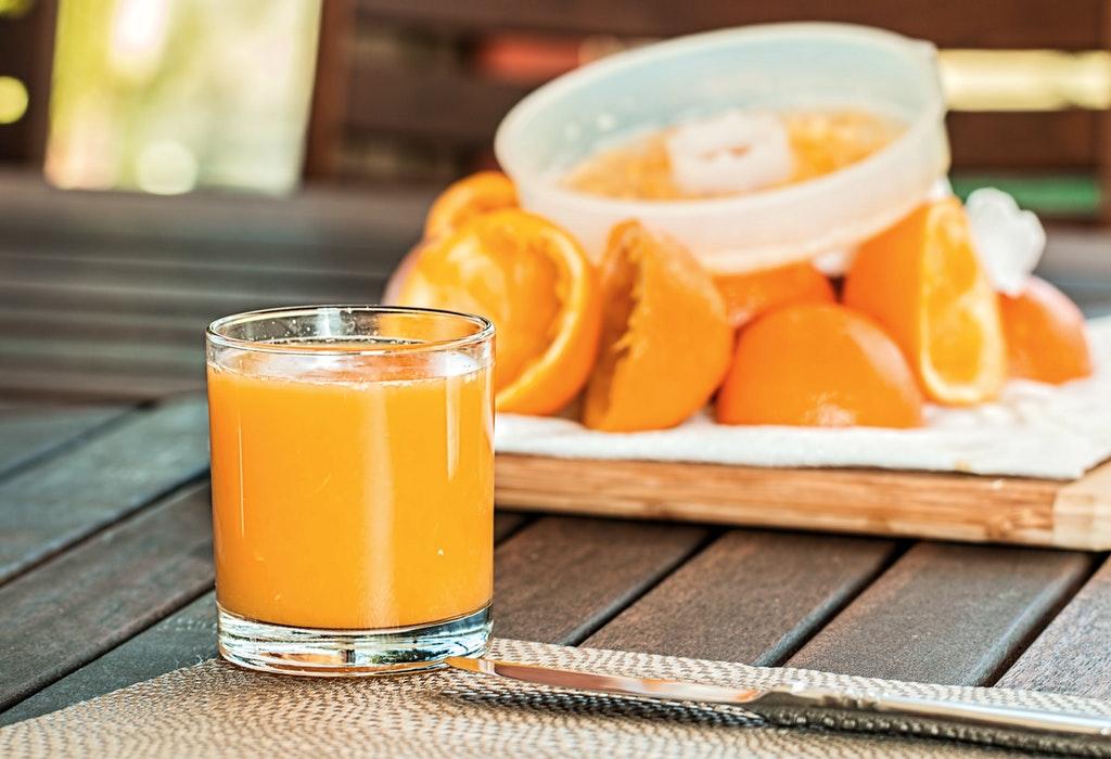 संत्र्याचा रस