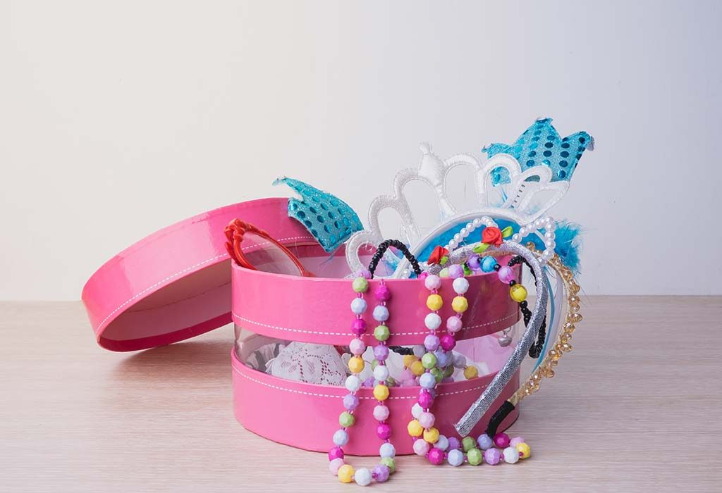 Hair accessories kit for girls