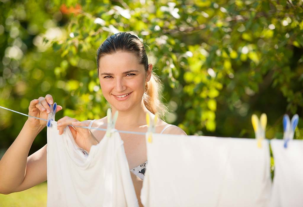 TIps to Keep Clothes White