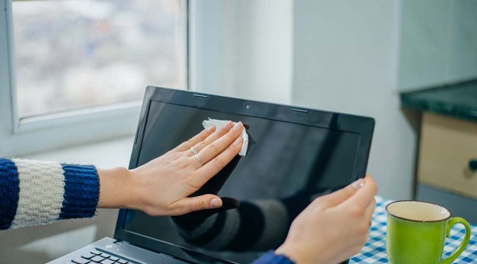 How to Clean a Laptop Screen Safely - Step By Step Guide