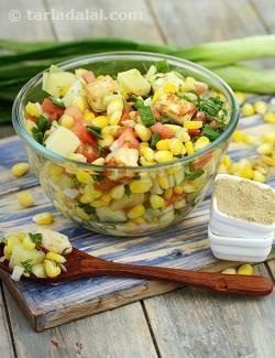 Corn Paneer Salad