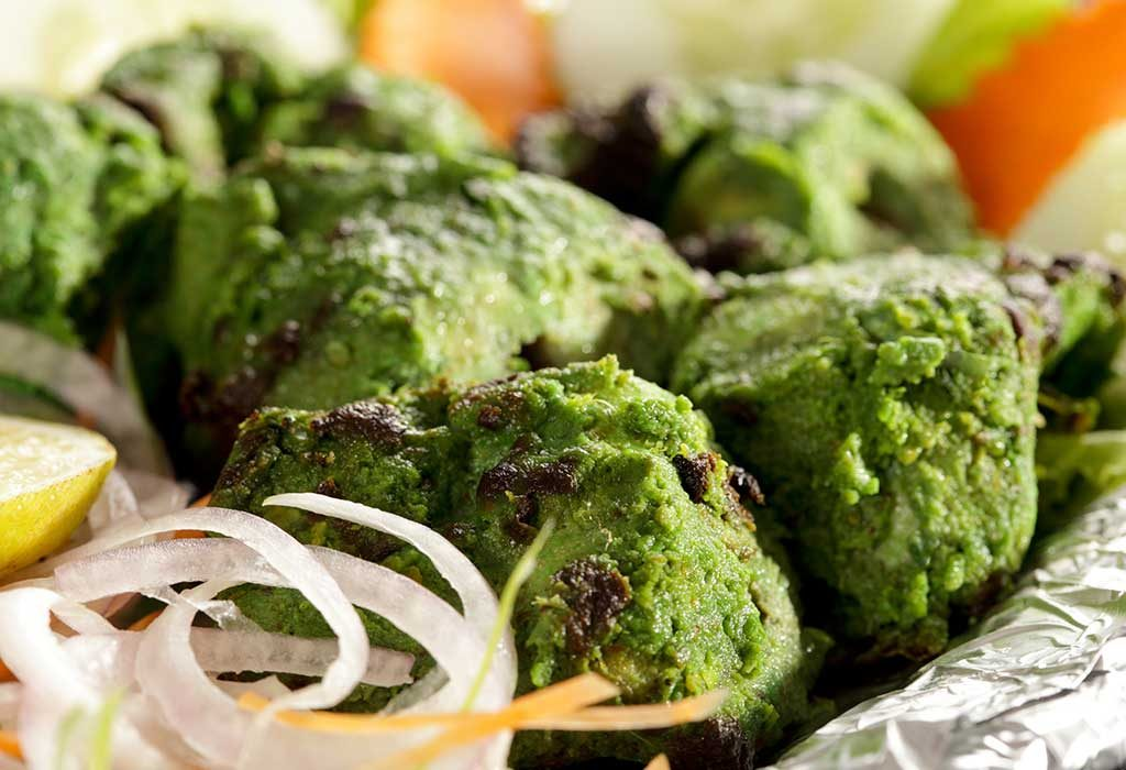 mint chicken tikka